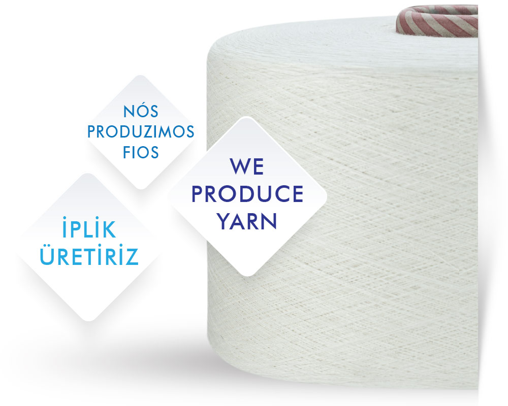 Suteks, We produce yarn